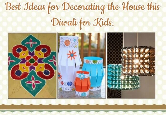 Diwali house decoration Ideas for Kids