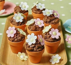 Chocolate Floral Decoration for Children