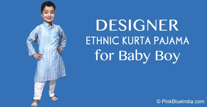 Designer Baby Boy Ethnic kurta Pajama