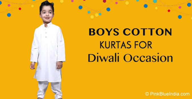 Diwali Kids Kurta, Boys Cotton Kurtas