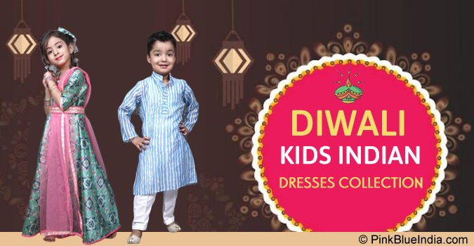 Diwali kids Dresses, Diwali Indian Kids Wear