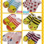 Cute Animal Face Toddler Socks