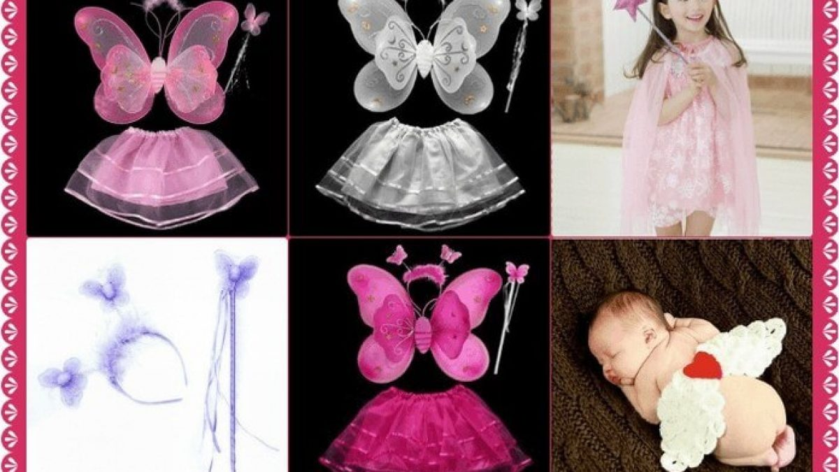 Unique Butterfly Costume and Dresses for Baby Girl  Princess