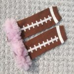 Baby Football Leg Warmers with Ruffles