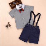 Baby Shorts with Suspenders