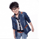 Kids Blue Denim Jacket