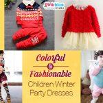 Children Winter Party Dresses