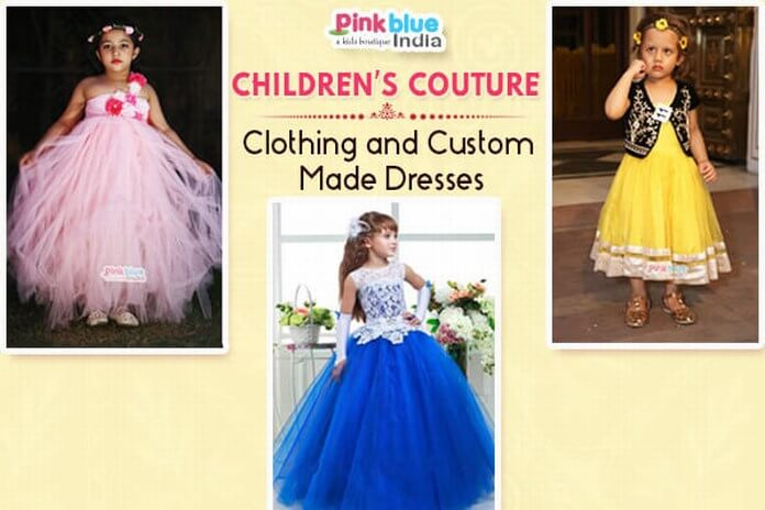 couture dresses for babies and children