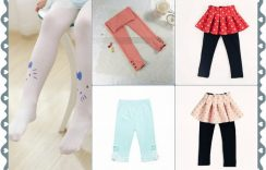 Vibrant and Pretty Designer Leggings for Baby Girls