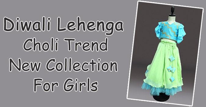 Diwali Lehenga Choli For Girls - Kids Lehenga Dress