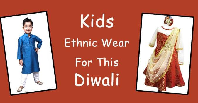 Diwali Kids Ethnic Wear