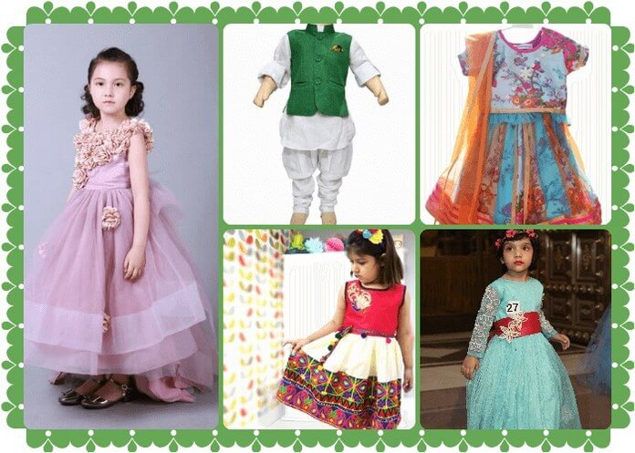 Festive Indian Clothing For Baby and Kids