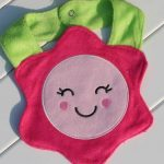 Floral Bib Burp Cloths for Babies