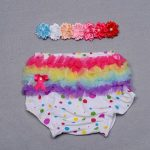 Rainbow Color Baby Bloomer