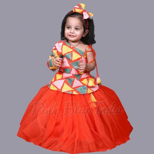 Diwali Collection Kids Lehenga Choli