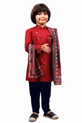 Baby Boy Indian Sherwani, Designer Kids Sherwani