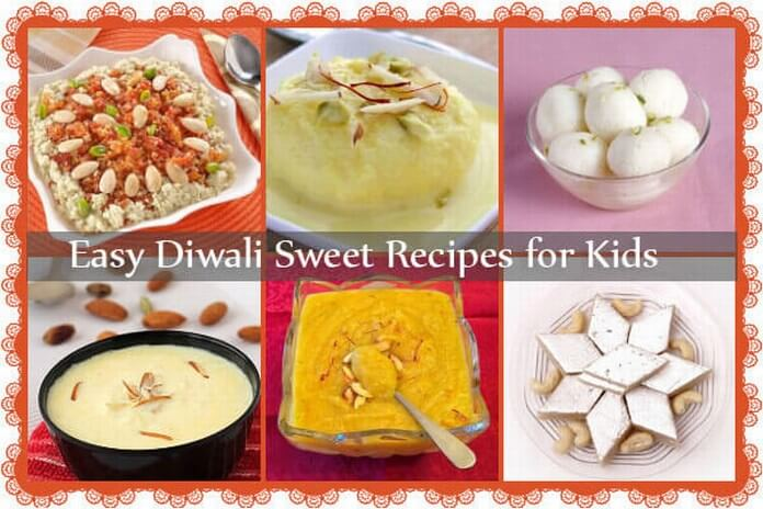 Indian Diwali Sweet Recipes for Kids