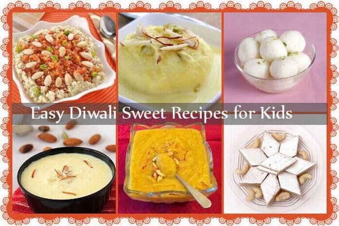 Indian Diwali Sweet Recipes for Kids
