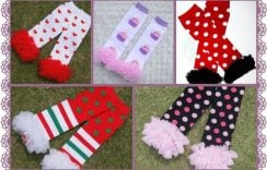 Cool and Fun Leg Warmers for Babies & Kids