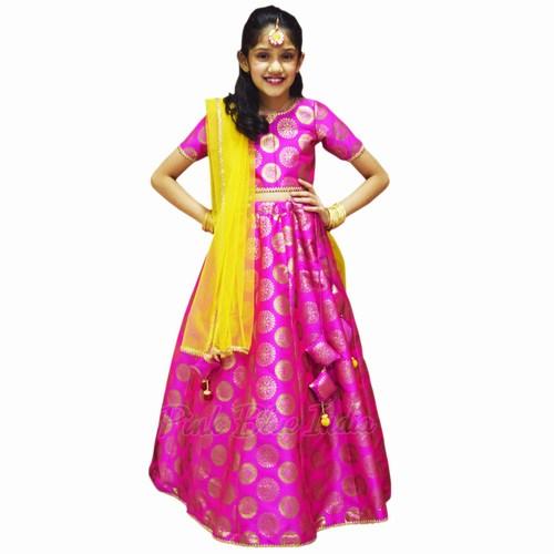 Diwali party Kids Lehenga Dress