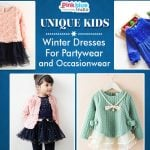 Kids Winter Partywear Dresses