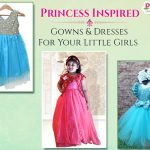 Little Princess Inspired Gowns