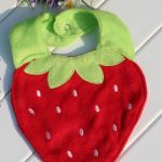 Strawberry Baby Bibs