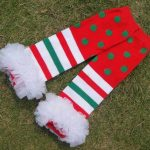 Christmas Leg Warmers and Socks For Toddler