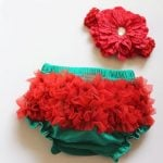 Unique Ruffled Bloomers for Newborns Babies