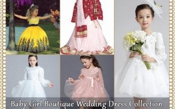 Baby Girl Boutique Wedding Dress Collection in Unique Designs