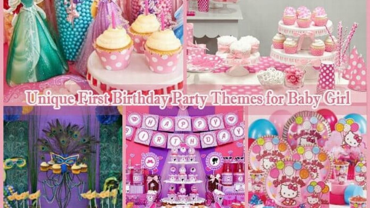 1st Birthday Party Themes.10 Unique First Birthday Party Themes For Baby Girl 1st