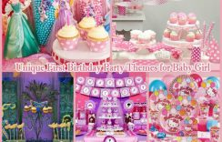 10 Unique First Birthday Party Themes for Baby Girl