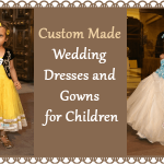 Custom Made Wedding Dresses for Children
