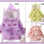 Little Girl Padded Winter Jacket