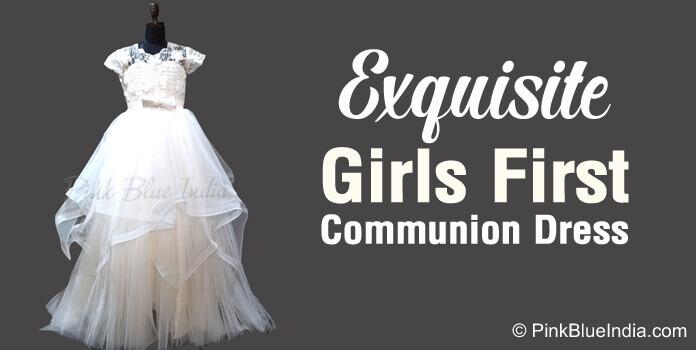 Girls First Communion Dresses, White Wedding Gown Online