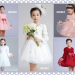 Kids and Baby Long Sleeve Wedding Outfit