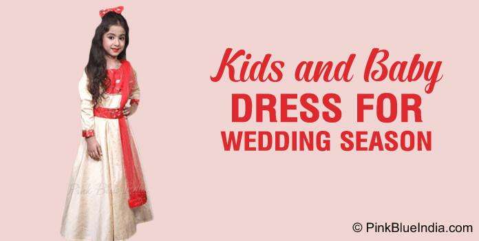 kids wedding dress, Baby Dress for Indian Wedding