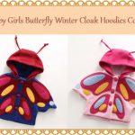 Baby Girl Cape Style Warm Jacket