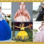 Little Princess Ball Gown Wedding Dress