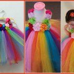 Baby Rainbow Tutu Dress