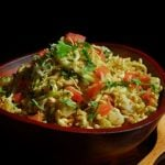 Bhel Puri kids Birthday Party food
