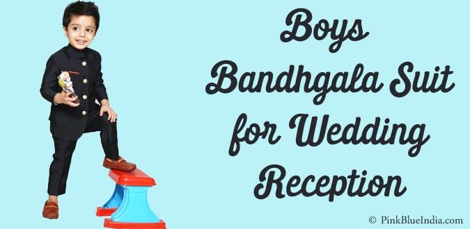 Kid Boys Jodhpuri Bandhgala Suit for Wedding