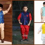 Boys Kurta Pajama With Nehru Jacket