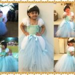 Cinderella Princess Birthday Tutu Dress