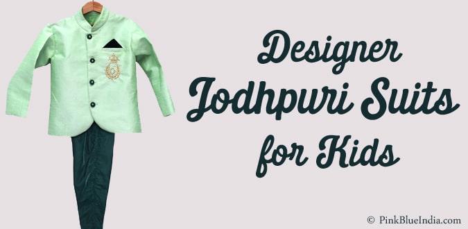 Jodhpuri Wedding Suit for Kids