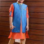 Kids Boys Indo Western Sherwani Suit