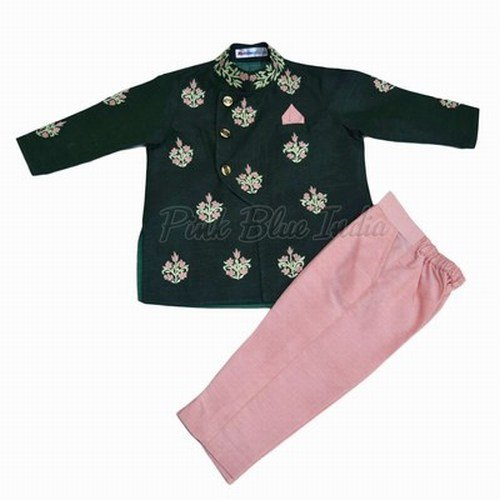 Baby Boys Indo Western Sherwani Suit, Festive & Party Sherwani Dress
