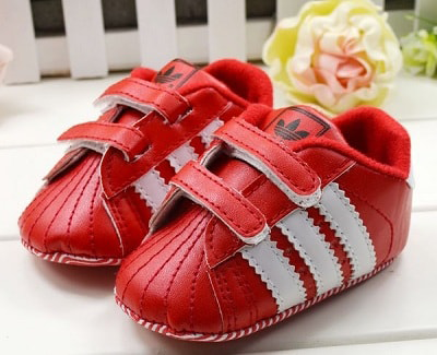Newborn Baby Boy Christmas Shoes
