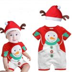 Merry Xmas Romper Set for Kids