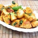 Mini Fried Idli Indian Food